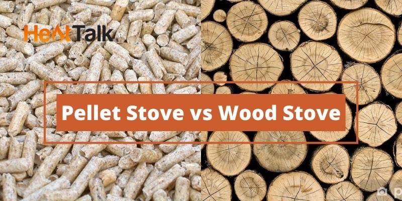 pellet stove vs wood stove