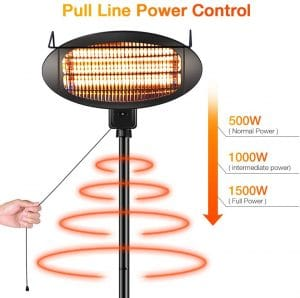 TRUSTECH Electric Outdoor Heater