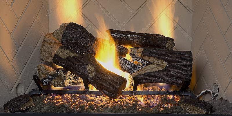 Sure Heat Gas Fireplace - Logs Insert