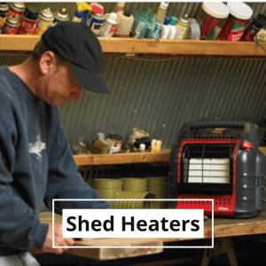 shed heaters