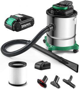cordless ash vacuum