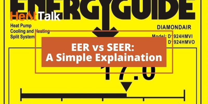 EER vs SEER