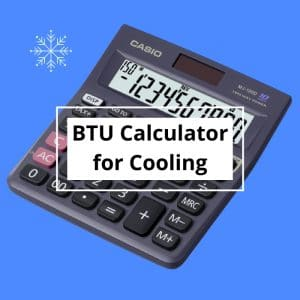 btu calculator for cooling