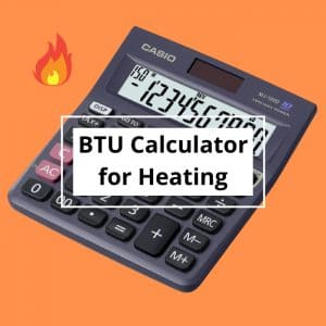 btu calculator for heating