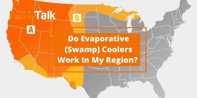 evaporative cooler humidity chart