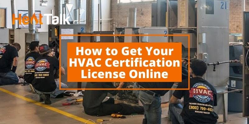 hvac certification online