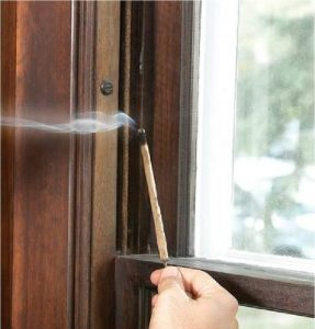 incense stick for drafty windows