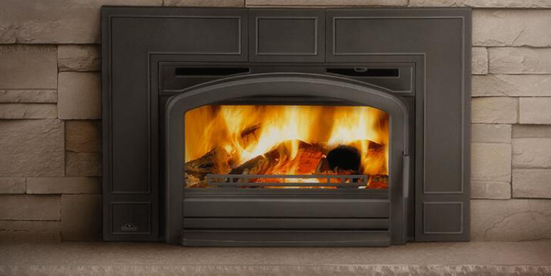 napoleon oakville wood fireplace insert