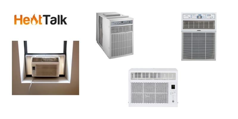 sliding window air conditioner