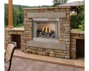 Empire Outdoor Vent Free Fireplace